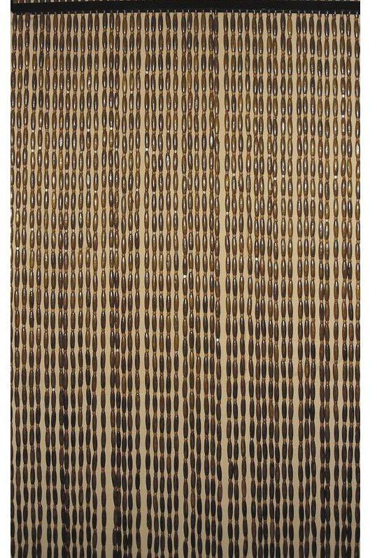 Rideau de porte en perles de bois - Rideaux de perles pour portes ...
