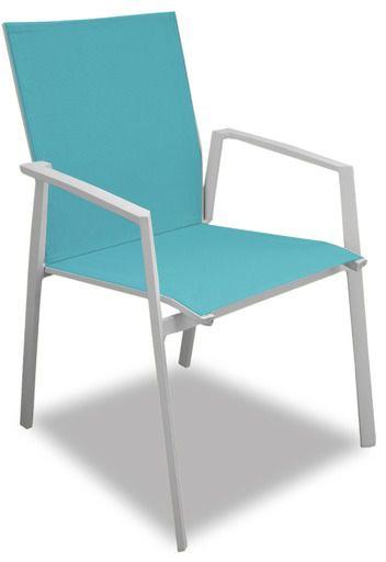 Salon de jardin moderne bleu 6 personnes cyclades for Acheter une maison dans les cyclades