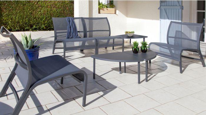 Salon De Jardin Lounge Aluminium
