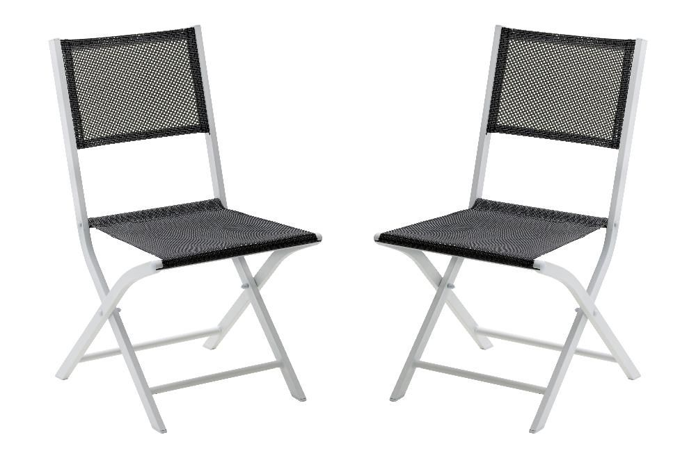 Salon de jardin modulo 1 table 4 fauteuils 4 chaise - Chaise salon jardin ...