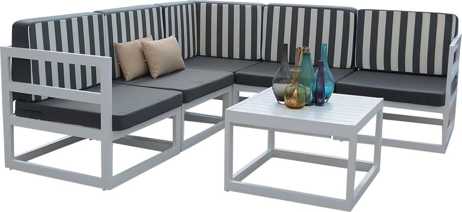 salon de jardin en aluminium belafor. Black Bedroom Furniture Sets. Home Design Ideas