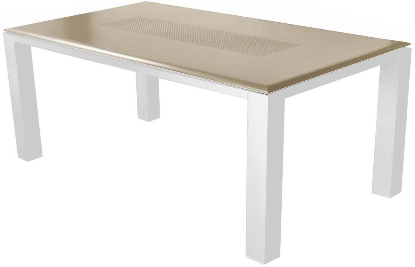 salon de jardin confortable 6 fauteuils oslo taupe. Black Bedroom Furniture Sets. Home Design Ideas