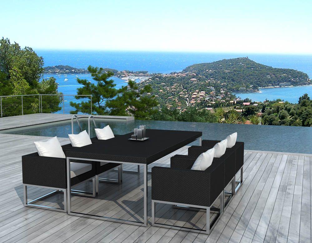 Exceptional Best Table De Jardin Structure Aluminium Pictures Amazing House