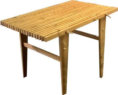 salon de jardin table et bancs m l ze. Black Bedroom Furniture Sets. Home Design Ideas