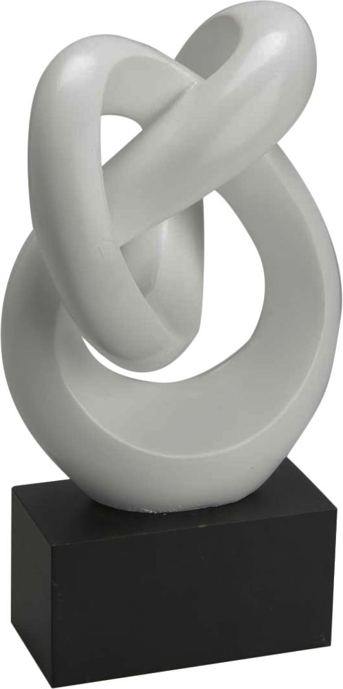 image_Sculpture Noeud blanc