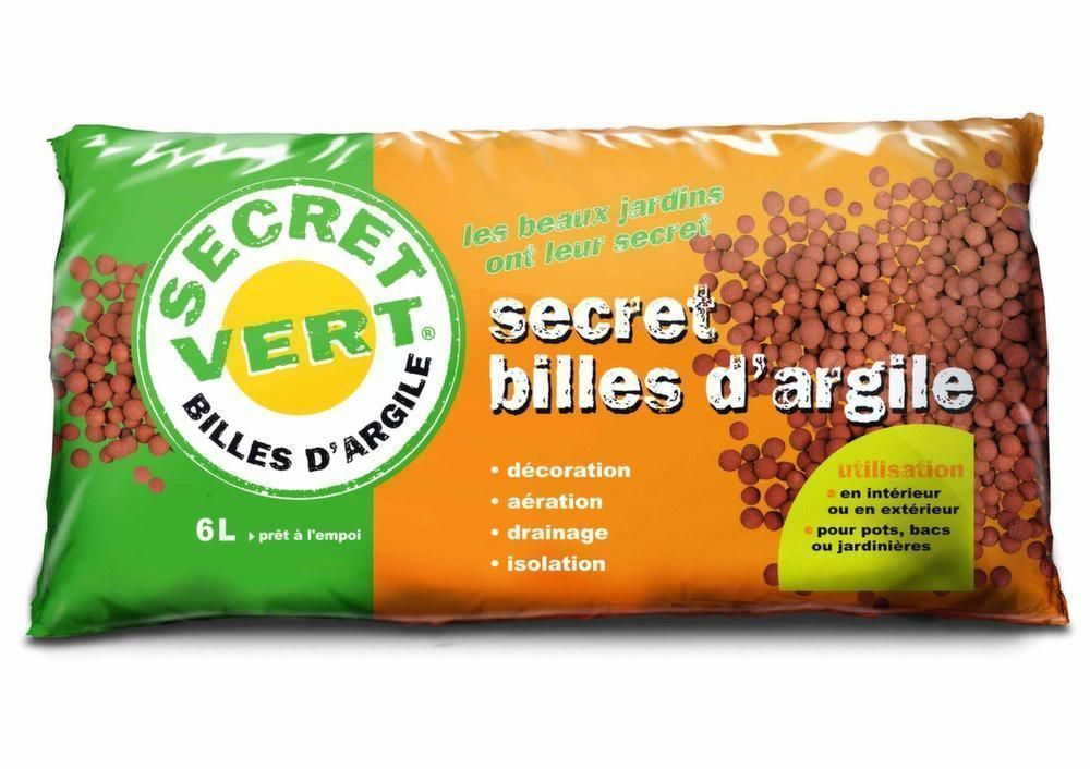 Billes d 39 argile 2 2kg for Bille d argile expansee