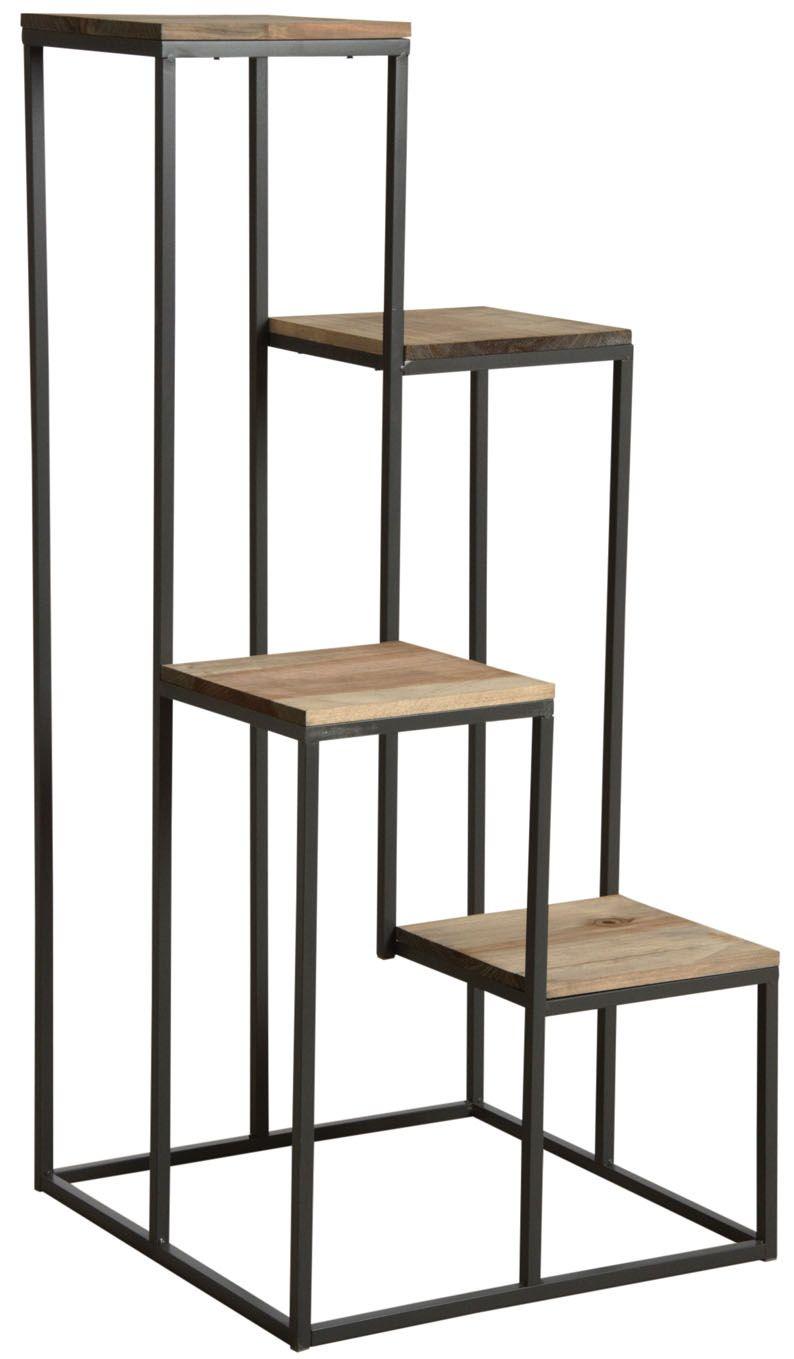 Sellette en escalier 4 plateaux bois