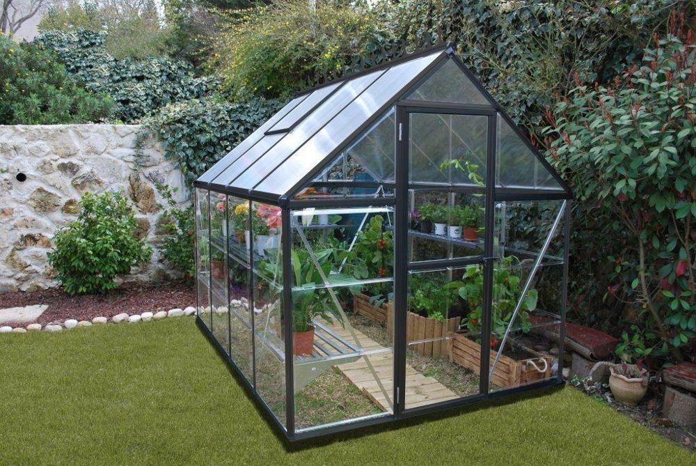 Attractive Amenager Une Serre De Jardin #7: Tablettes De Serres