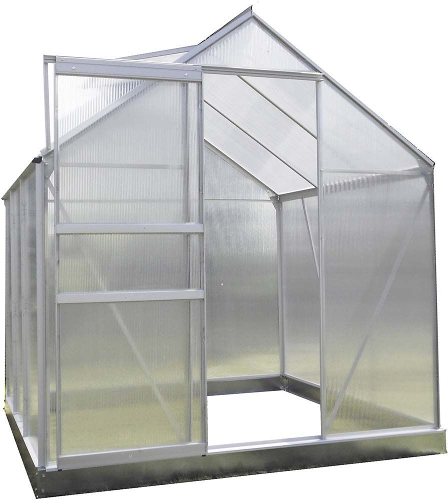 serre de jardin en polycarbonate 193 x 125 cm. Black Bedroom Furniture Sets. Home Design Ideas