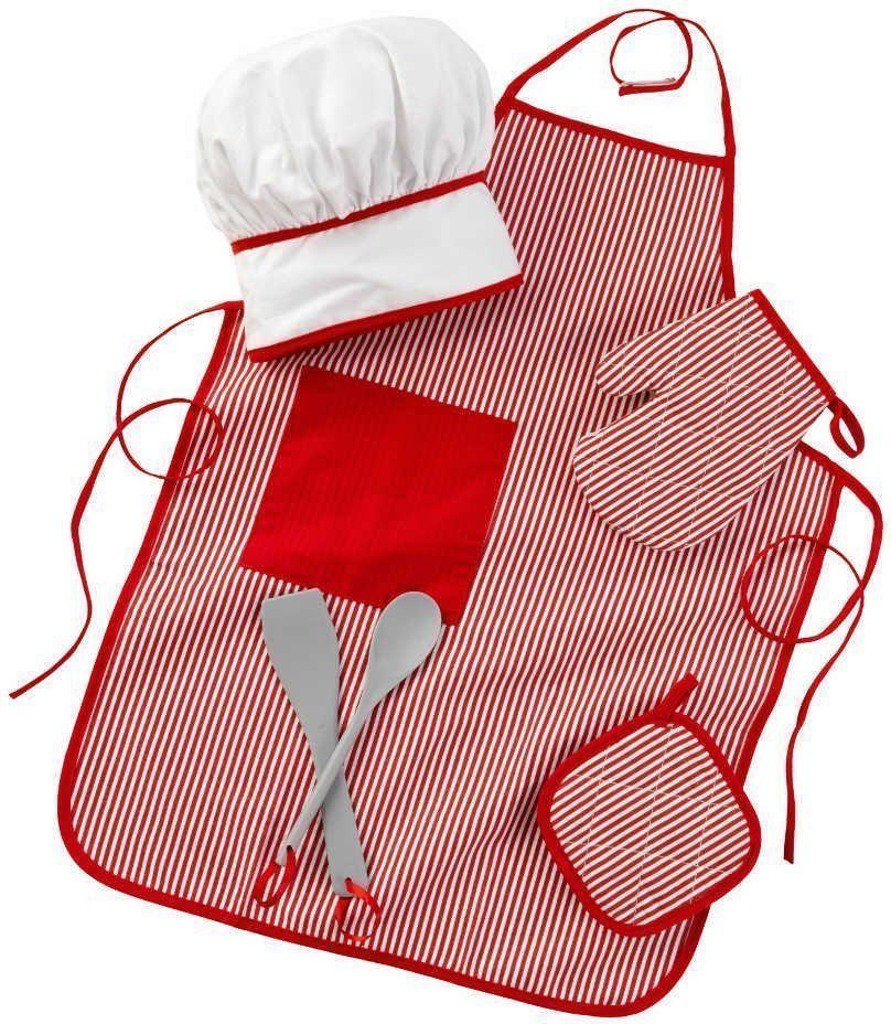 Set accessoires de cuisine enfant rouge for Accessoire cuisine