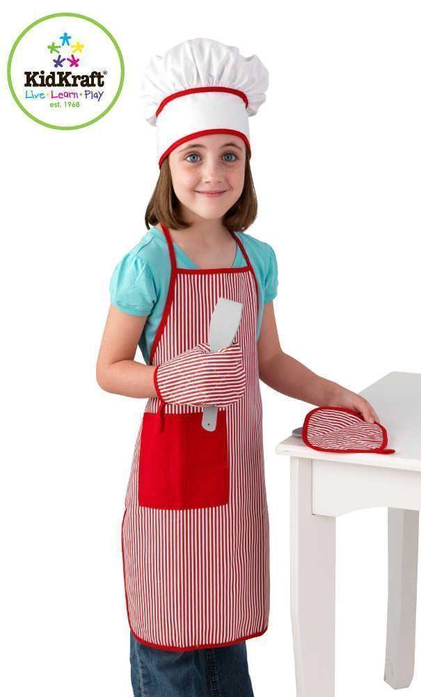 Set Accessoires Cuisine Rouge De Kidkraft