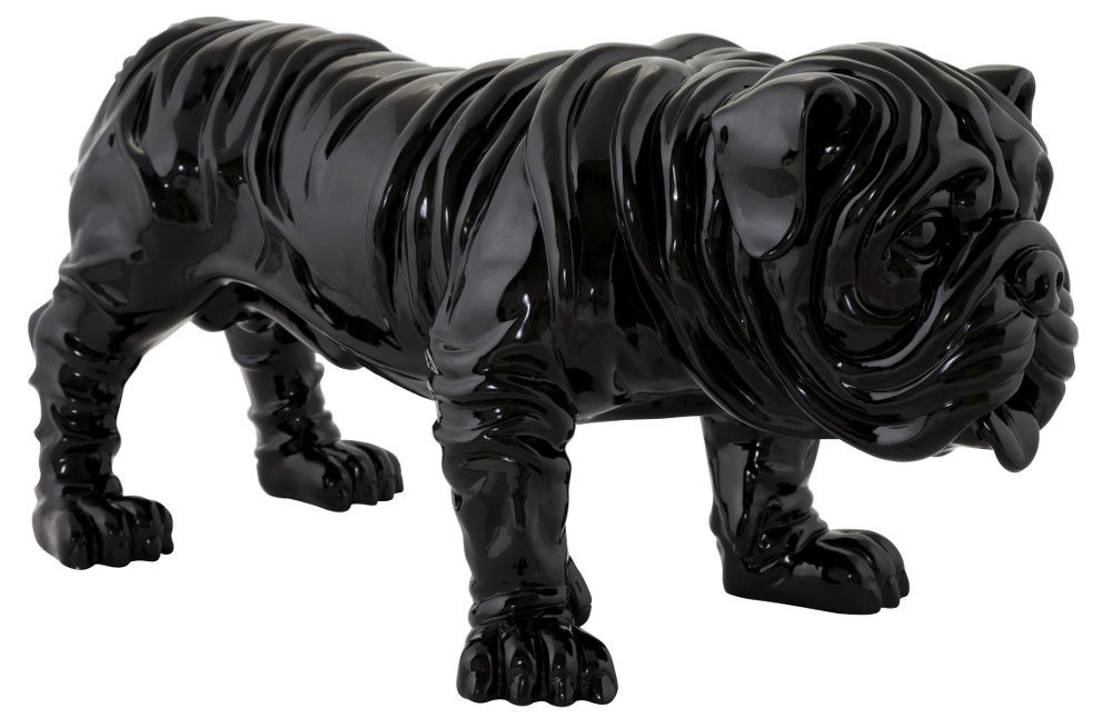 statue design bulldog. Black Bedroom Furniture Sets. Home Design Ideas