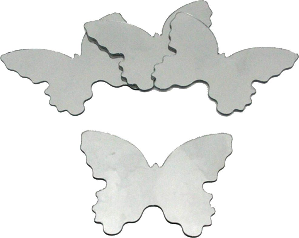 Sticker miroir Papillon (Lot de 4) sur Jardindeco