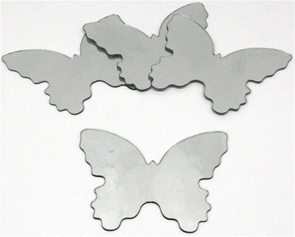image_Sticker miroir Papillon (Lot de 4)
