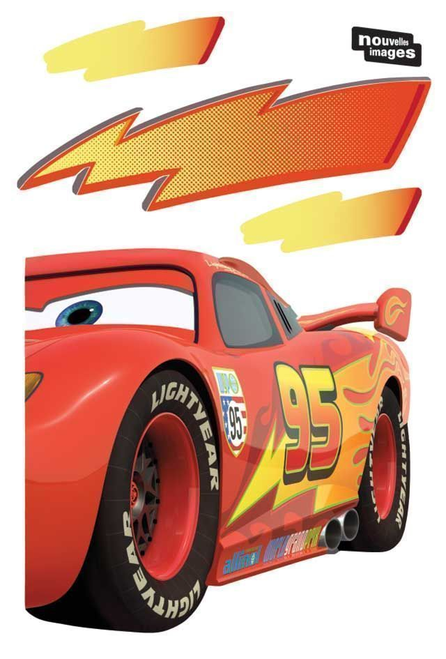 Sticker mural Cars-3