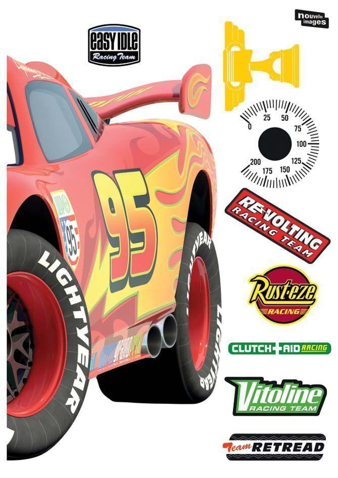 Sticker Mural Cars Voiture Taille Xxl