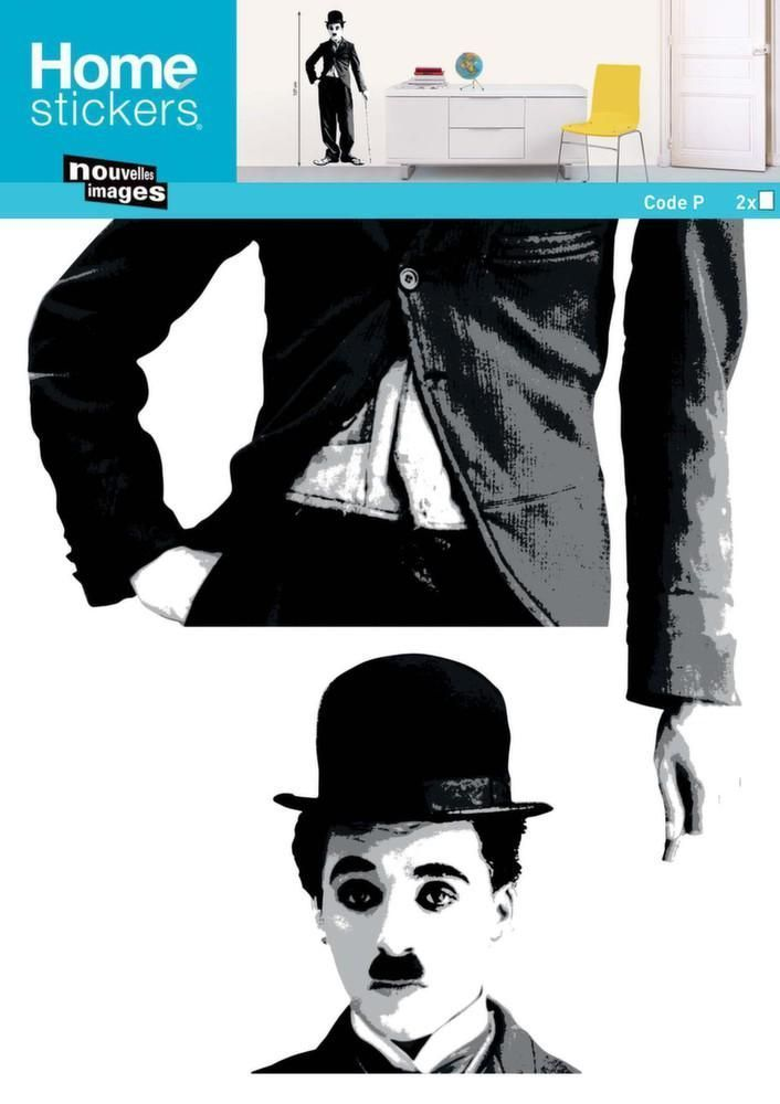 Sticker mural Charlie Chaplin by Nouvelles images
