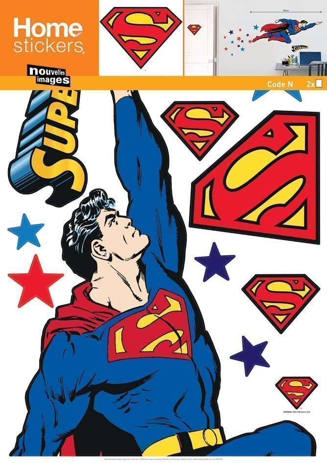 image_Sticker mural Superman