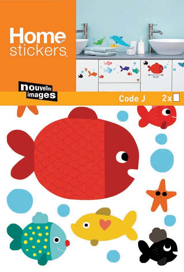 image_Sticker mural poisson