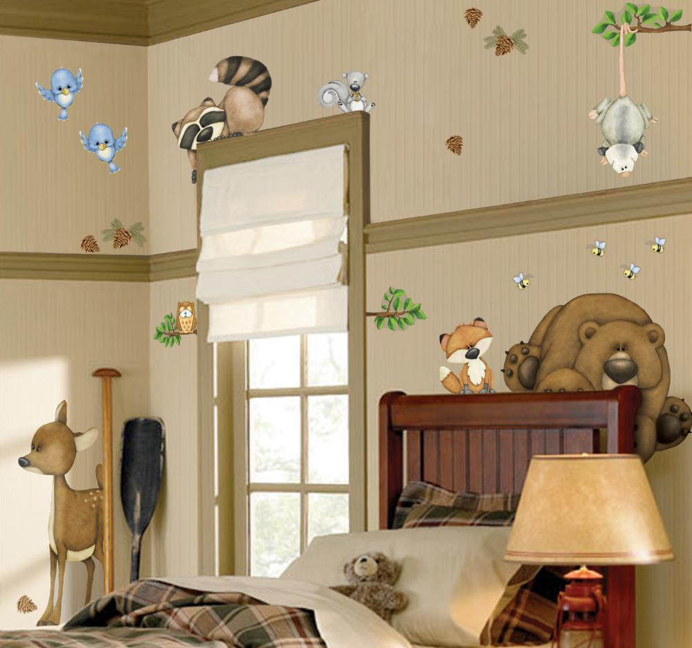 Stickers enfant Dans les bois by Borders unlimited