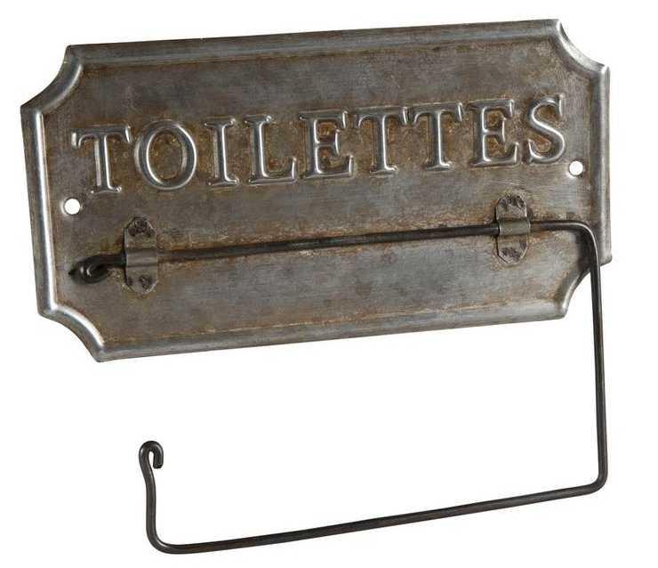 support papier toilette ancien en zinc support papier toilette design sur. Black Bedroom Furniture Sets. Home Design Ideas