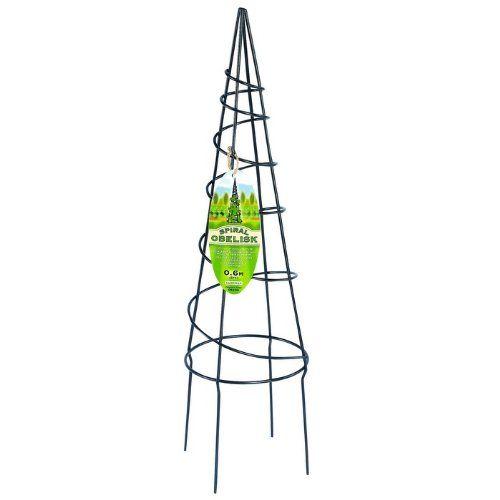 Support en spiral pour plantes grimpantes obelisque - Support plante grimpante ...