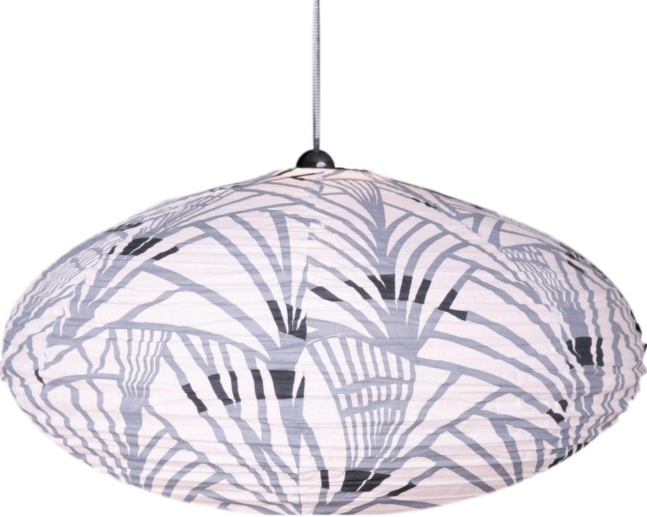 Suspension ovale 80cm Africa Grey-1
