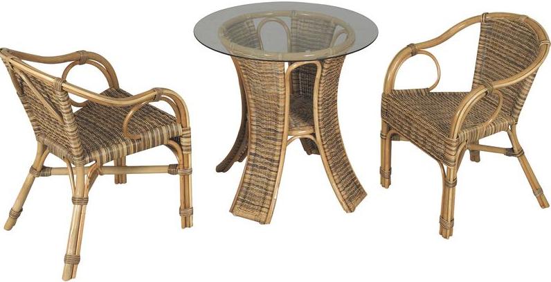 Salon en rotin jusqu 71 soldes premi re d marque for Table et chaise de salon