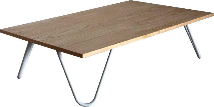 Table basse m�tal et bois
