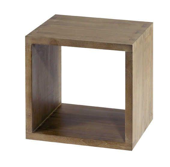 Table, Bois, Tiroir de rangement -> Table En Cube