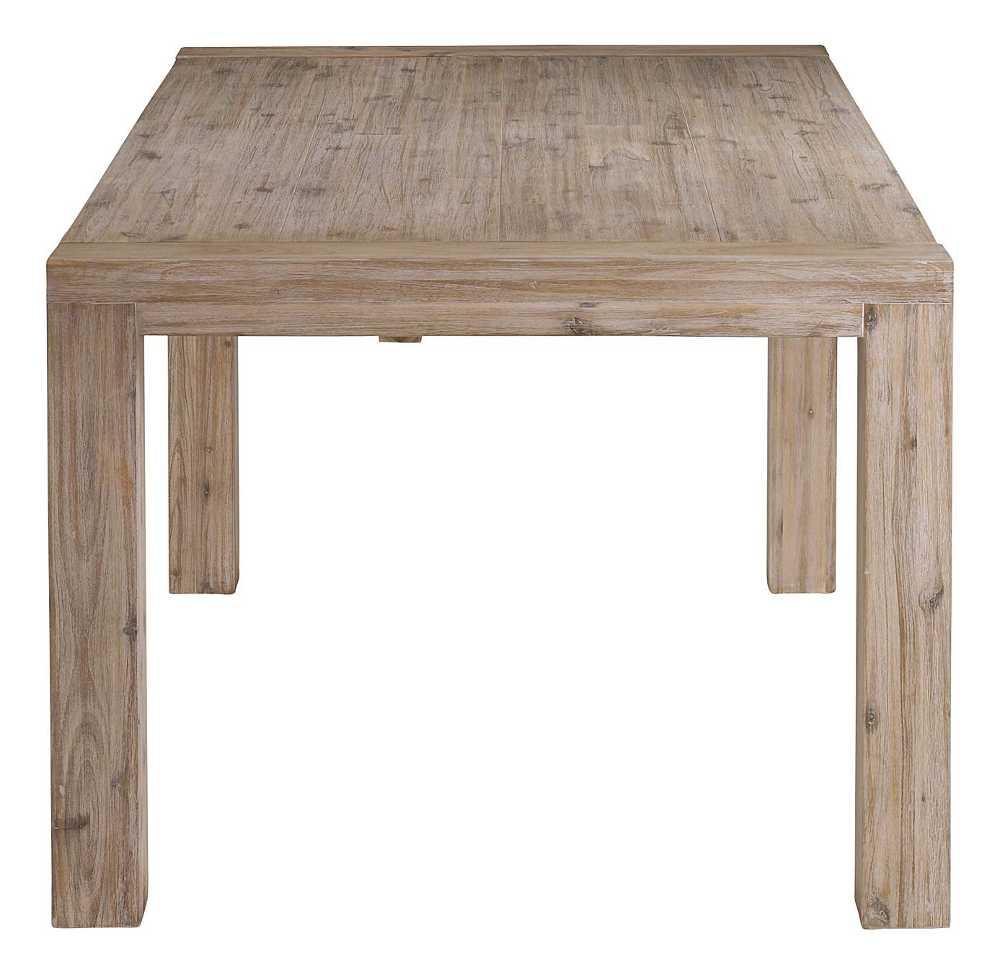 Table 200cm en acacia Nevada avec allonge 50cm-1