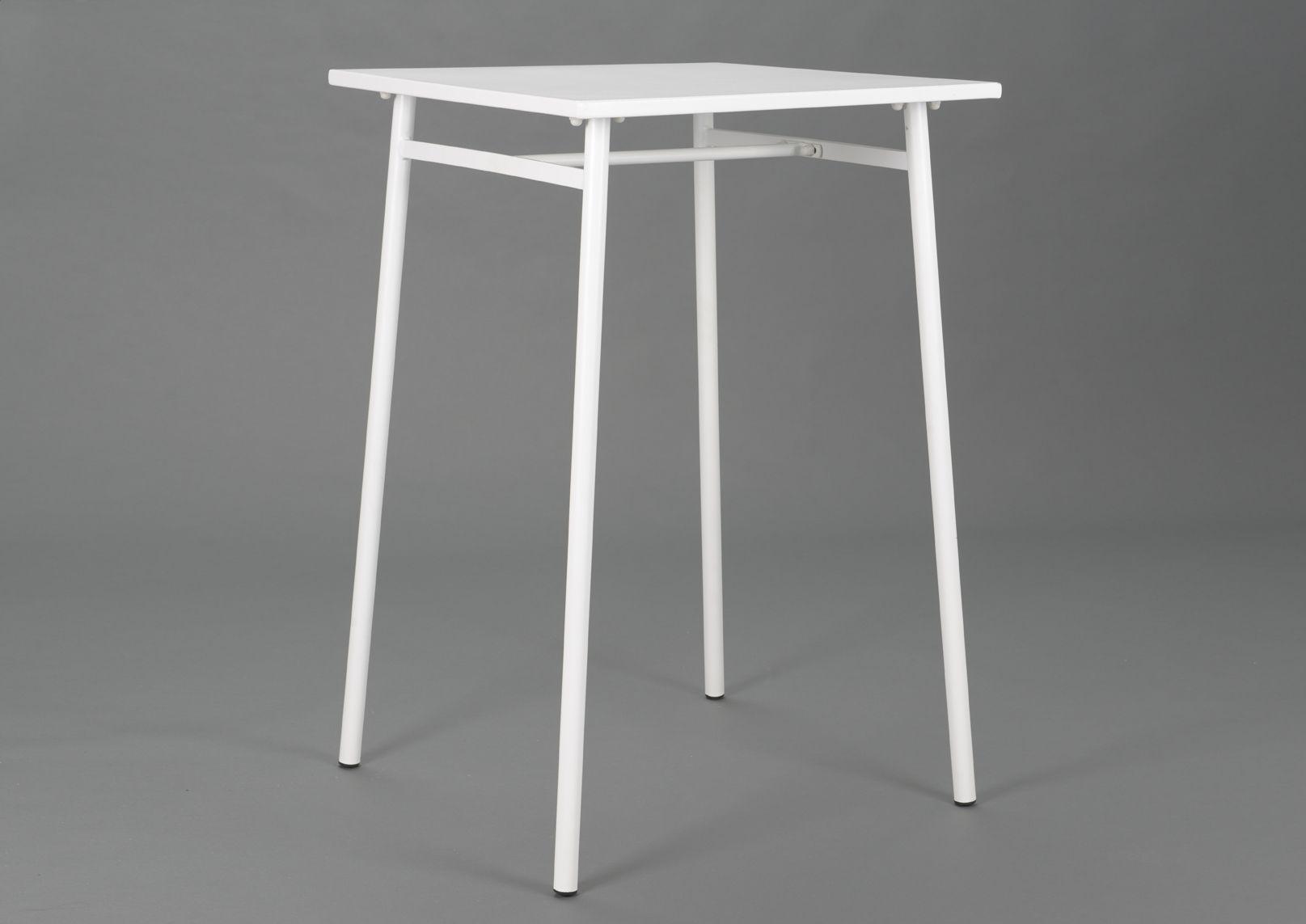 table de bar blanc epoxy. Black Bedroom Furniture Sets. Home Design Ideas