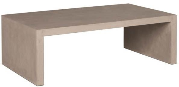 Table basse 120 cm Hugo sur Jardindeco