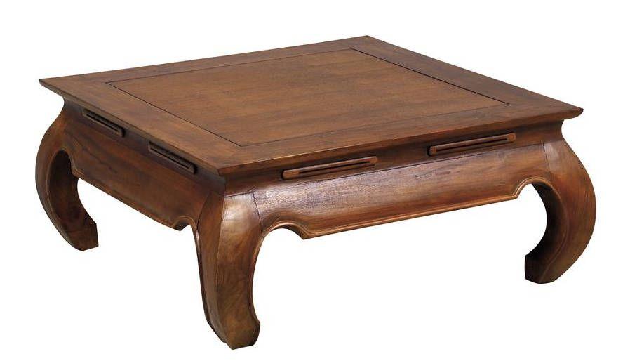 table basse exotique en teck massif opium taille 1. Black Bedroom Furniture Sets. Home Design Ideas