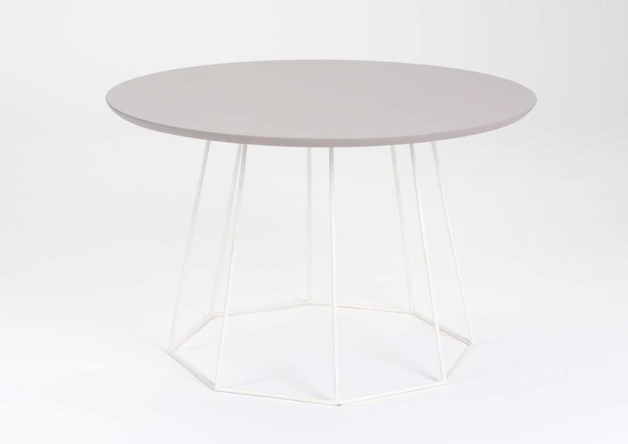 Table basse parme filaire bois for Table filaire