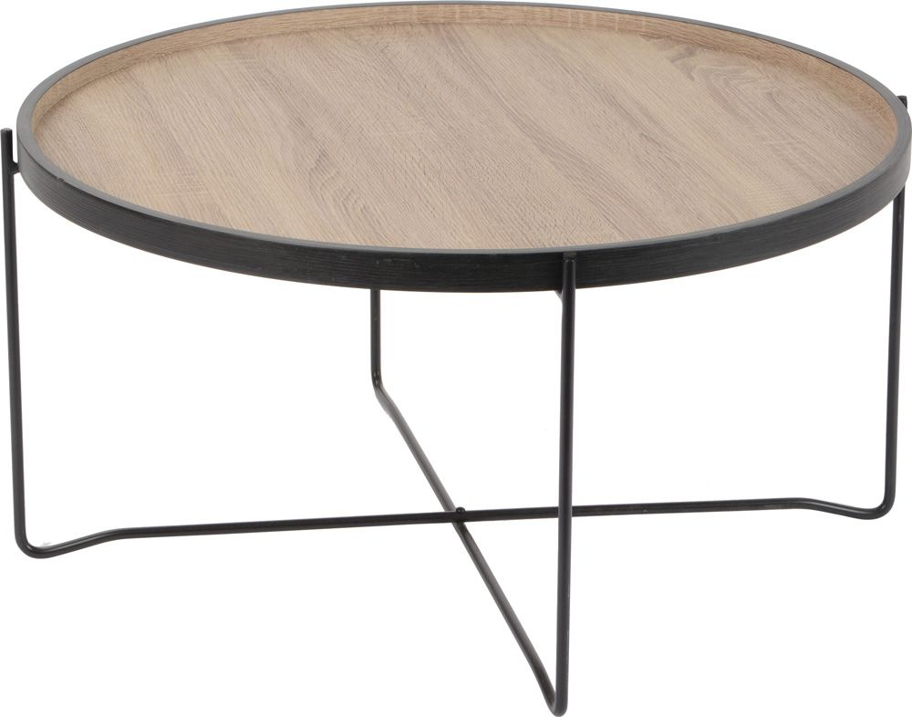 Table basse plateau esprit industriel for Plateau table cuisine