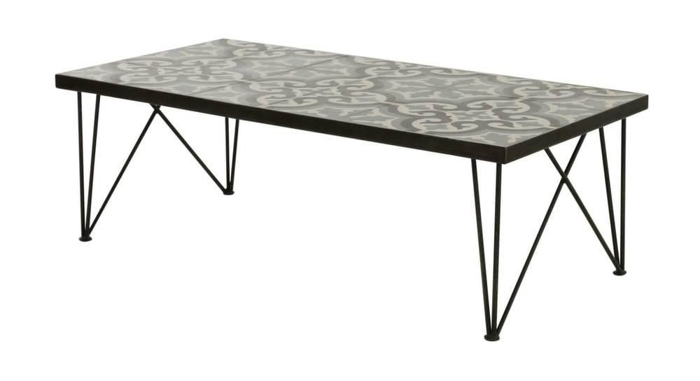 table basse rectangulaire chic 120 cm. Black Bedroom Furniture Sets. Home Design Ideas