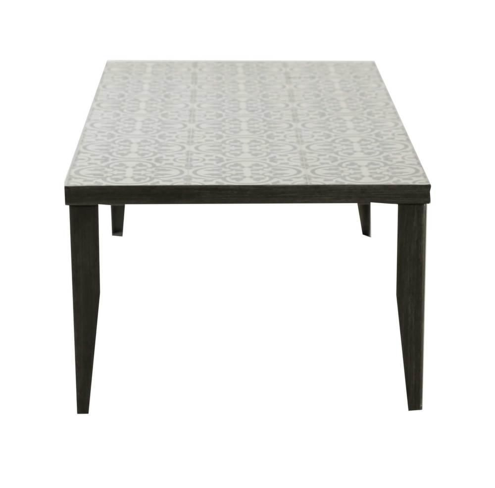 Table basse rectangulaire Elegance 120 cm-1