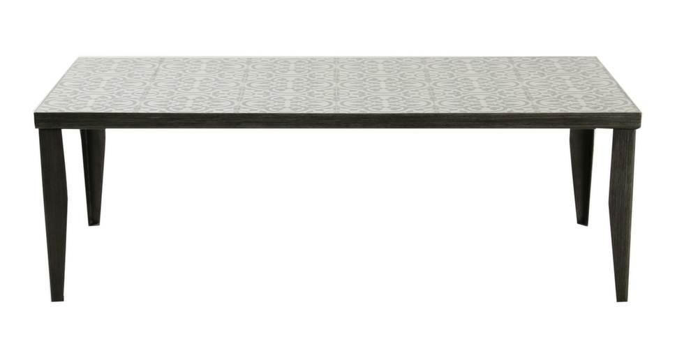 Table basse rectangulaire Elegance 120 cm-2