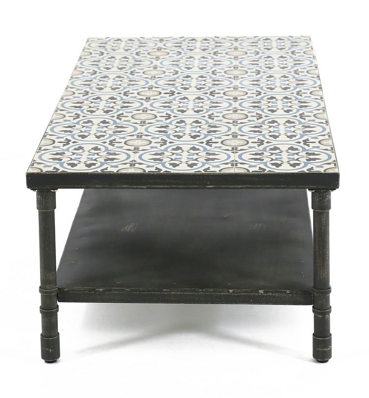Table basse rectangulaire Trendy 120 cm-3