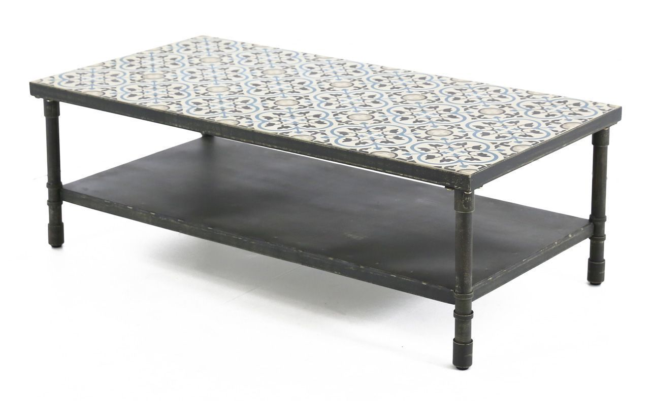 Table basse rectangulaire trendy 120 cm - Table basse rectangulaire ...