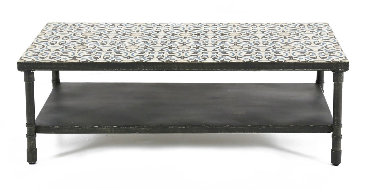 Table basse rectangulaire Trendy 120 cm-1