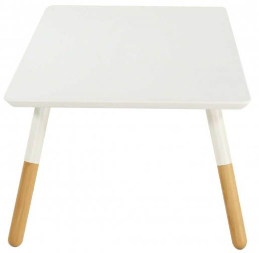 Table basse rectangulaire blanche Koppen-1
