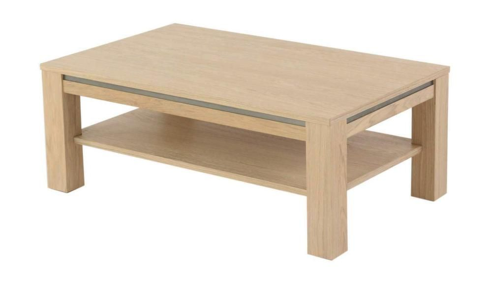 Table basse rectangulaire double plateaux Orlando-2