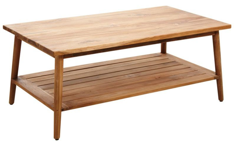 Table basse en teck