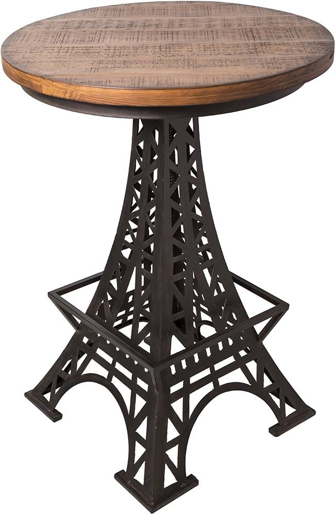 table bistrot pieds tour eiffel. Black Bedroom Furniture Sets. Home Design Ideas