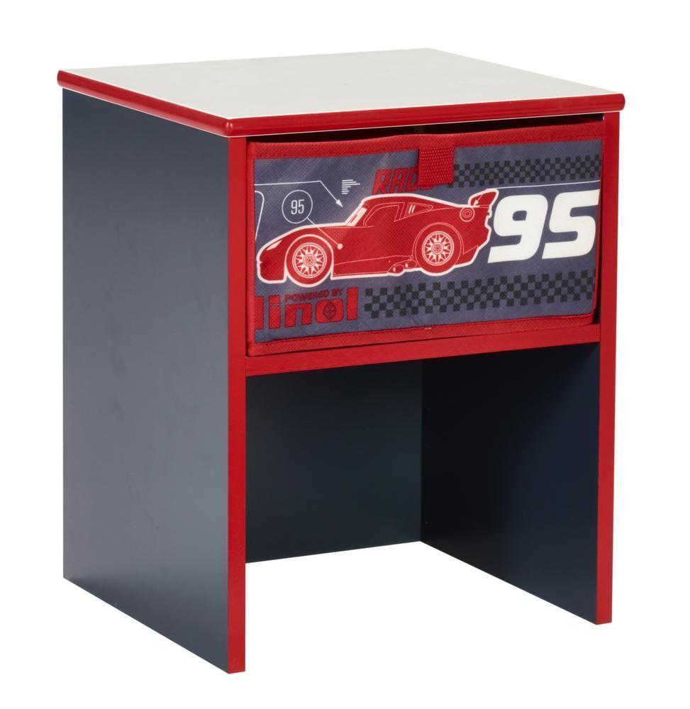 table de chevet disney cars. Black Bedroom Furniture Sets. Home Design Ideas