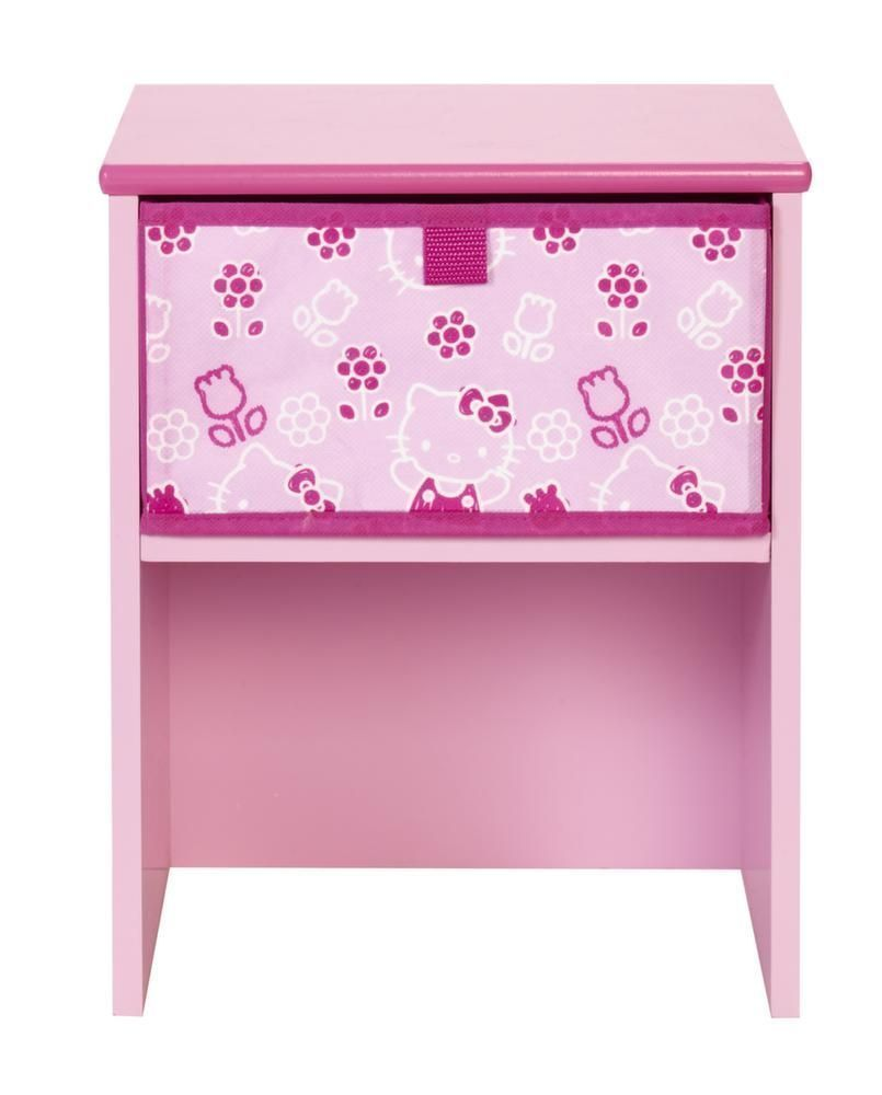 table de chevet hello kitty. Black Bedroom Furniture Sets. Home Design Ideas