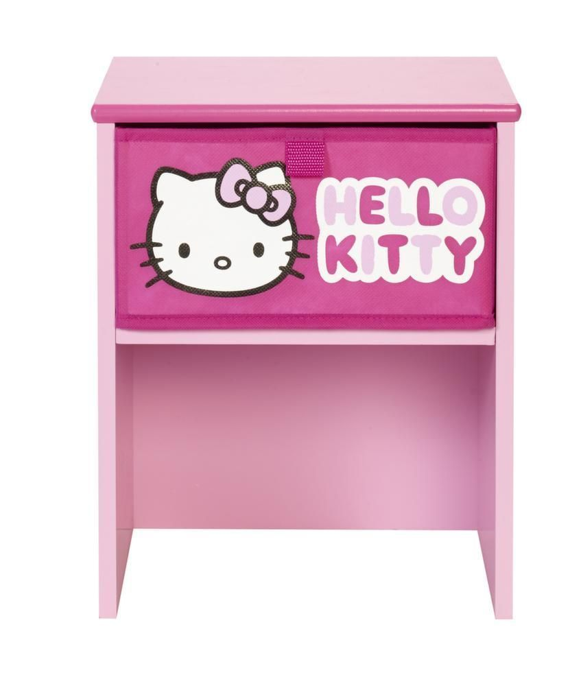 Table de chevet Hello Kitty sur Jardindeco