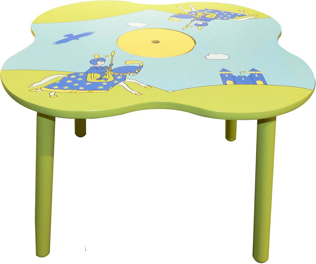 table pour enfant chevalier. Black Bedroom Furniture Sets. Home Design Ideas